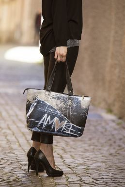 Amor Art Wearing - Borsa a barchetta